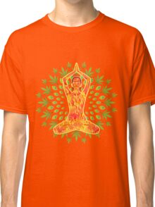 Young woman practicing meditation 8 Classic T-Shirt