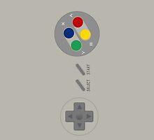 Super Nintendo Controller Case by CAsylum