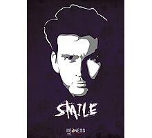 Kilgrave: Smile (white on dark colors) Photographic Print