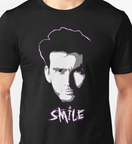 Kilgrave: Smile (white on dark colors) Unisex T-Shirt