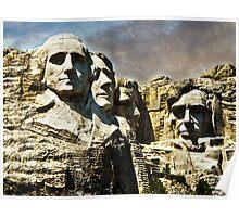 Presidential Rocks Poster
