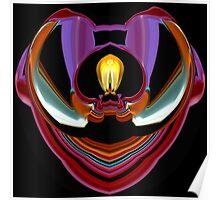 contemporary techno art 1032 Poster