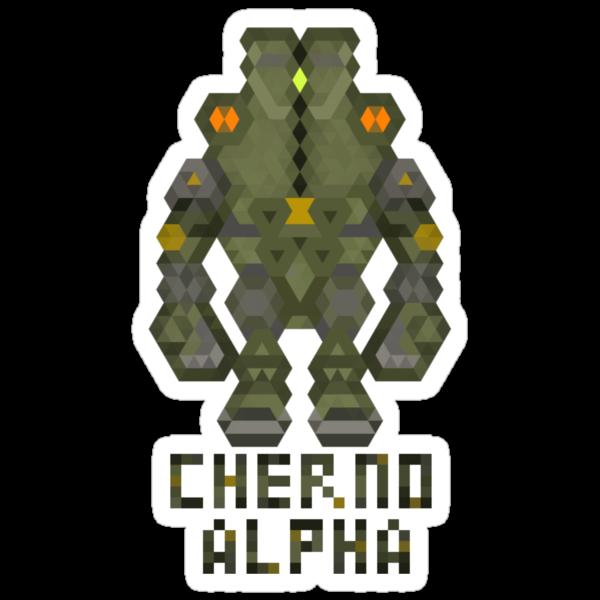Pacific Rim Jaeger - Cherno Alpha by Joshua  Smyth