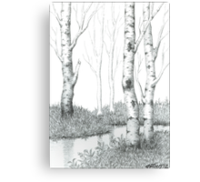 BIRCH TREE 02 Canvas Print