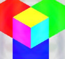 RGB - Cube Sticker