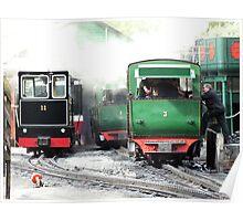 Llanberis Locomotive Shed Poster