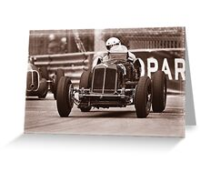 Grand Prix Historique de Monaco #4 Greeting Card