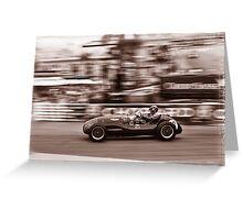 Grand Prix Historique de Monaco #6 Greeting Card