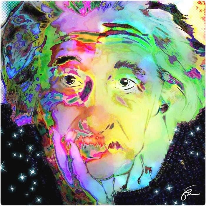 Albert Einstein by themighty
