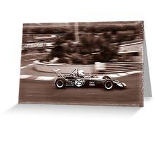 Grand Prix Historique de Monaco #7 Greeting Card