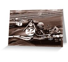 Grand Prix Historique de Monaco #8 Greeting Card