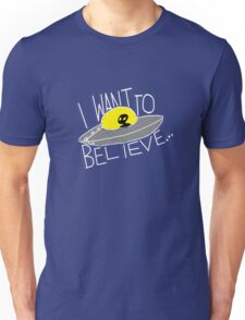 I Want To Believe [dark tees] Unisex T-Shirt