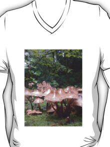 shrooms in the woods T-Shirt