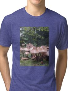 shrooms in the woods Tri-blend T-Shirt