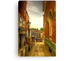Bridge Street Brow, Stockport Canvas Print