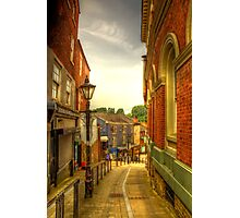 Bridge Street Brow, Stockport Photographic Print