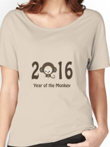 Cute 2016 Year of the Monkey Women's Relaxed Fit T-Shirt