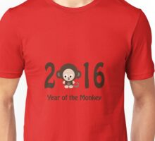 Cute 2016 Year of the Monkey Unisex T-Shirt