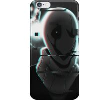 Lights Camera Gaster iPhone Case/Skin