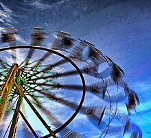 Abstract Ferris Wheel by shuttermom