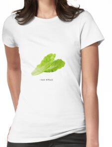 i love lettuce Womens Fitted T-Shirt