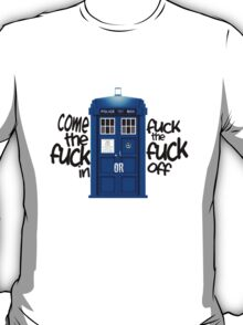 Tardis. T-Shirt