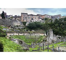 Roman Theatre of Volterra Photographic Print