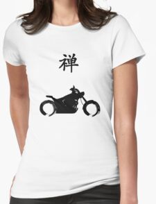 Zen and the Art of Motorcycle Maintenance Symbol Womens Fitted T-Shirt