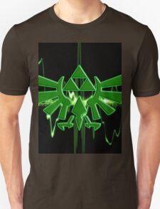 GREEN TRIFORCE Unisex T-Shirt