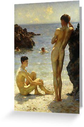 Lovers of the Sun by Bridgeman Art Library