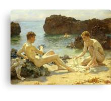 The Sun Bathers Canvas Print