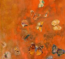 Evocation of Butterflies by Bridgeman Art Library