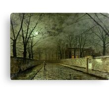 Silver Moonlight, 1880 (oil on canvas) Canvas Print