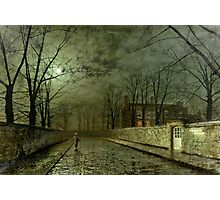 Silver Moonlight, 1880 (oil on canvas) Photographic Print