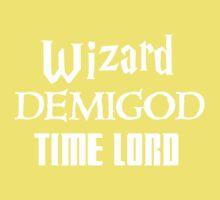 Fandoms: Wizard, Demigod, Time Lord One Piece - Short Sleeve