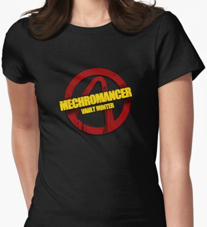 Mechromancer Womens Fitted T-Shirt