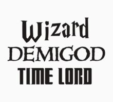Fandoms: Wizard, Demigod, Time Lord One Piece - Long Sleeve