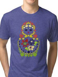 Fruit Matryoshka Doll Tri-blend T-Shirt
