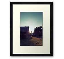 Till We Meet Again.. Framed Print