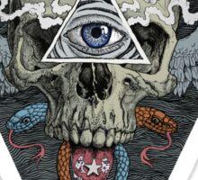 ajna awakening - muted Sticker