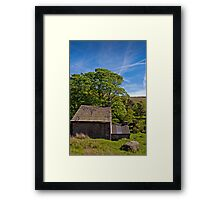 A Little Place In The Country Framed Print