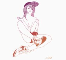 Sneakergirl #1 by LukeCHarvey