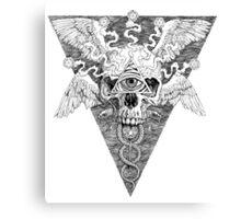 Ajna awakening - lines Canvas Print