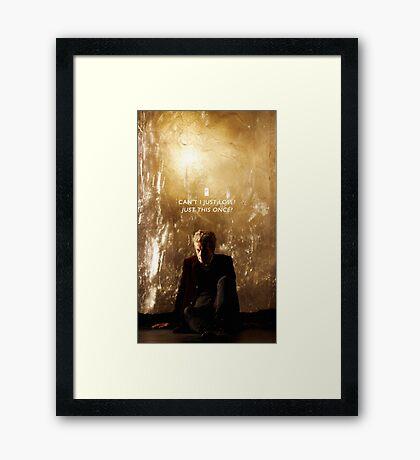 Twelve Doctor Who {CASES, PILLOWS,ETC} Framed Print