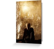 Twelve Doctor Who {CASES, PILLOWS,ETC} Greeting Card