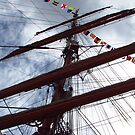 Mast of Windjammer Седов by M-EK