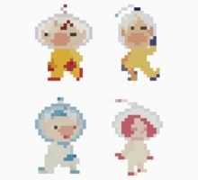 Pikmin Captains by hoodsandhats