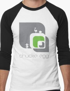 Chuckie Egg Men's Baseball ¾ T-Shirt