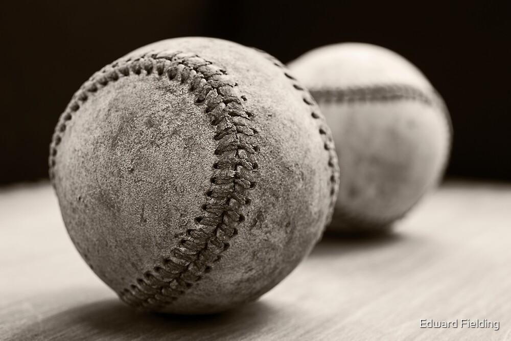 Old Baseballs by Edward Fielding