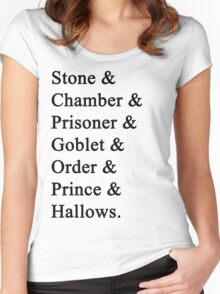 Potter Women's Fitted Scoop T-Shirt